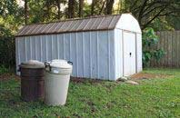 Raleigh garden storage shed installation